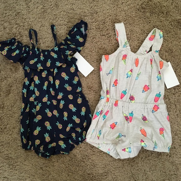 OshKosh B'gosh Other - Oshkosh | Romper Bundle